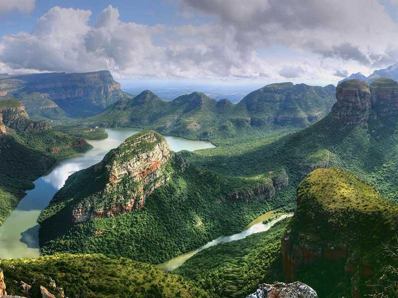 Drakensbergen i Sydafrika