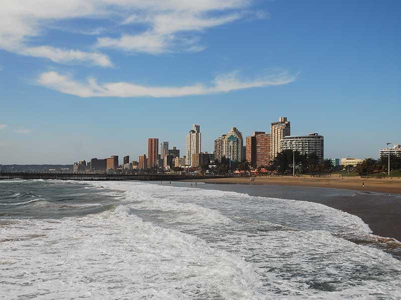 Sol och bad är bäst i Durban