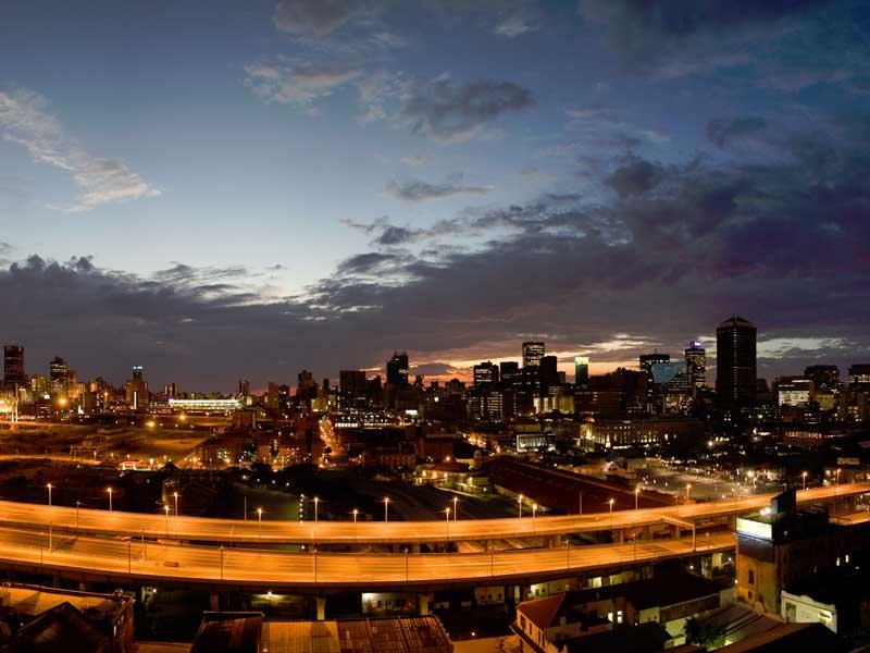 Storstaden Johannesburg