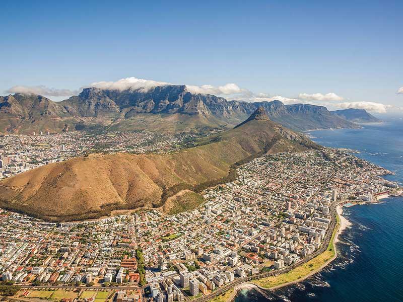 Kapstaden i Sydafrika
