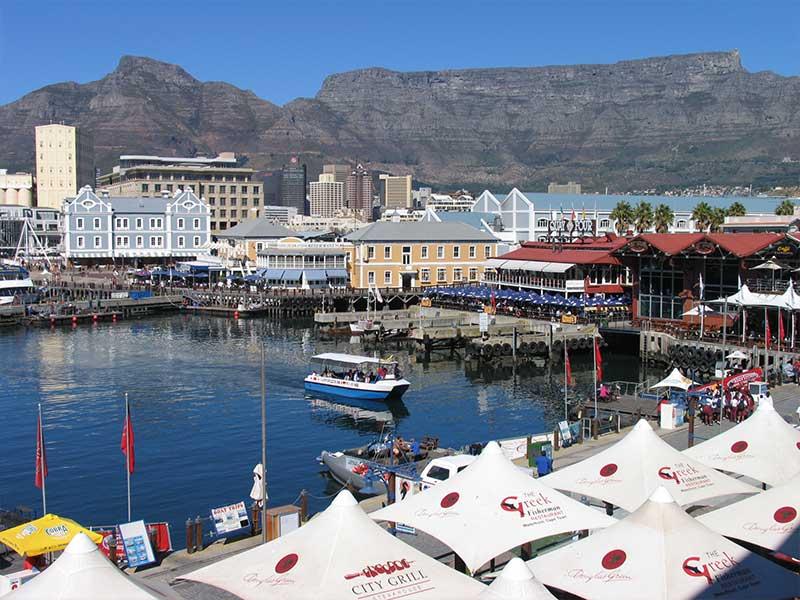 Waterfront i Kapstaden