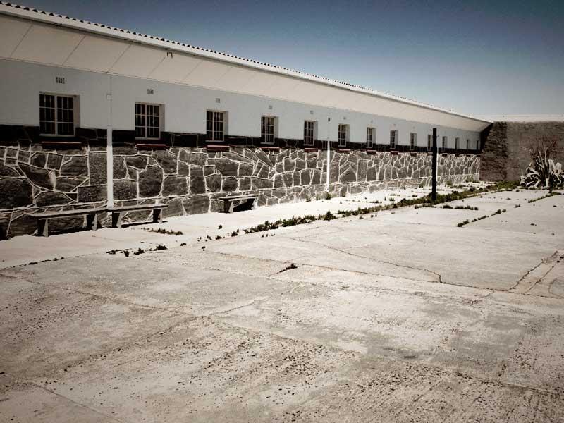 Här var Nelson Mandela fängslad